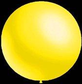 100 stuks - Decoratieve ballonnen - 30 cm - metallic geel professionele kwaliteit
