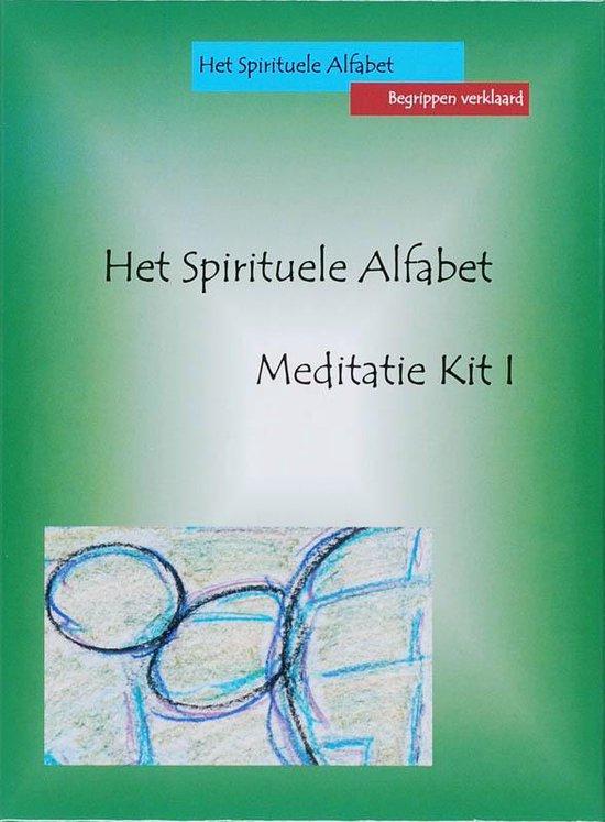 Spirituele alfabet meditatie kit 1,het - M. Blitterswijk   Fthsonline.com