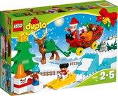 LEGO DUPLO Wintervakantie van de Kerstman - 10837