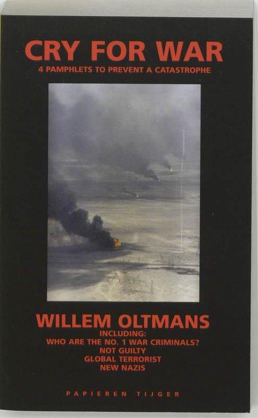 Cover van het boek 'Cry for war'