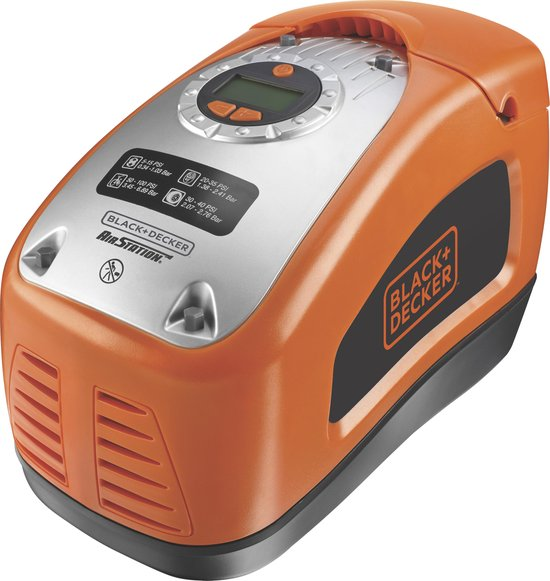 BLACK+DECKER ASI300-QS compressor - multifunctioneel -160 PSI/11 Bar