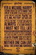 HARRY POTTER - Poster 61X91 - Quotes