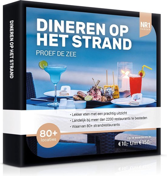 Nr1 Dineren Op Het Strand 20,-