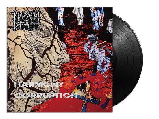 CD cover van Harmony Corruption (LP) van Napalm Death