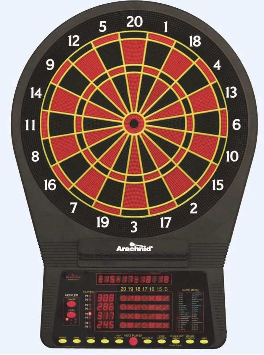 Arachnid Cricket Pro E800 Electronic Dartboard