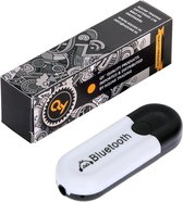 QY Bluetooth Audio Receiver – Wireless USB Adapter Dongle met Stereo-3.5mm Jack