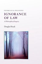 Omslag Ignorance of Law