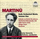 Martinu: Early Orch. Works 1