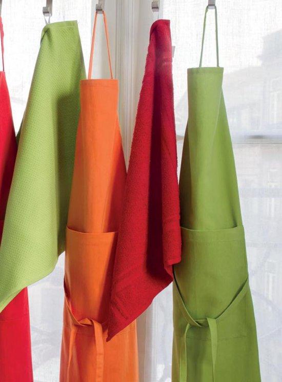 4 stuks Badstof Keukendoeken 50x50 cm Uni Pure Paars col 3233 - Duplex Kitchen Pure