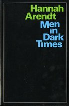 Boek cover Men in Dark Times van Hannah Arendt