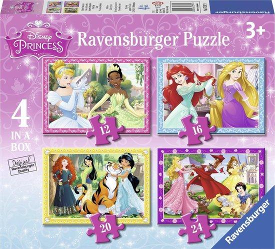 Ravensburger puzzel Disney Princess - 12+16+20+24 stukjes - kinderpuzzel