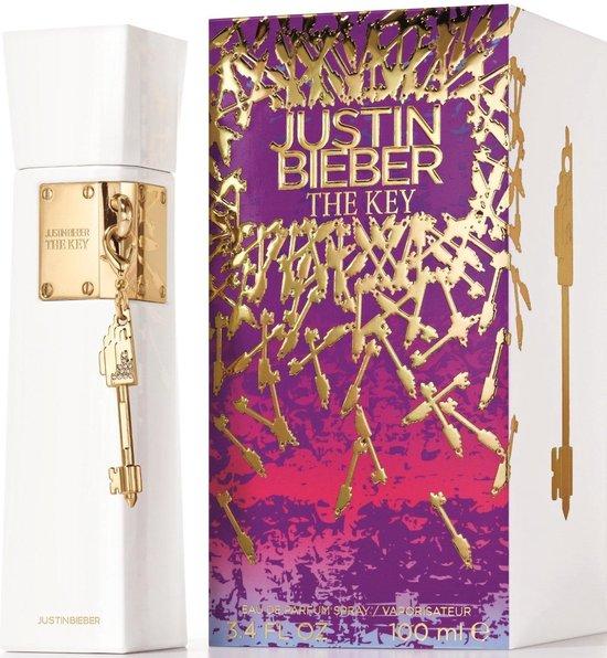 Justin Bieber The Key 100 ml Vrouwen