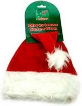 Kerstmuts Hond/Kat - Dierenkleding - Rood/Wit
