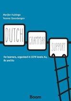 Boek cover Dutch grammar support van Marijke Huizinga (Paperback)