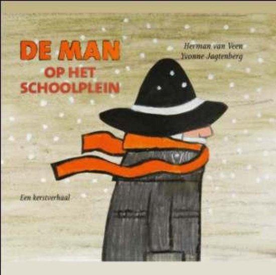 Cover van het boek 'De man op het schoolplein' van H. van Veen