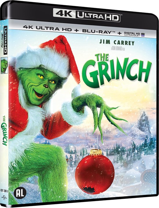 How the Grinch Stole Christmas (4K Ultra HD Blu-ray) - Film