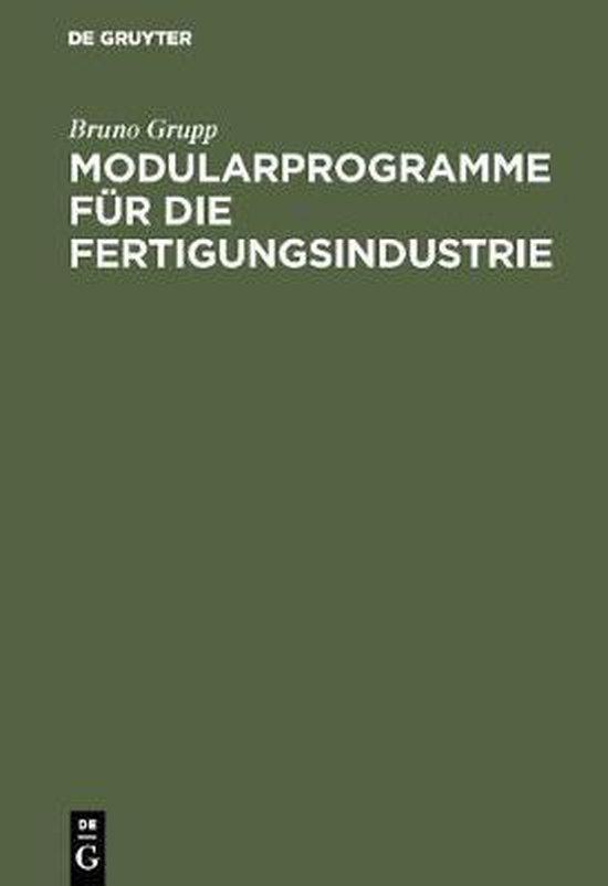 Modularprogramme Fur Die Fertigungsindustrie
