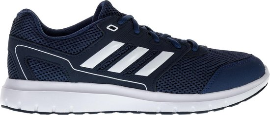 adidas Duramo Lite 2.0 Hardloopschoenen - Maat 44 2/3 - Mannen - donker  blauw - wit
