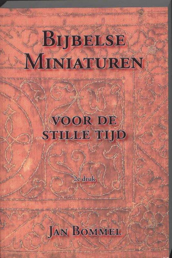 Bijbelse Miniaturen - J.P. Bommel  