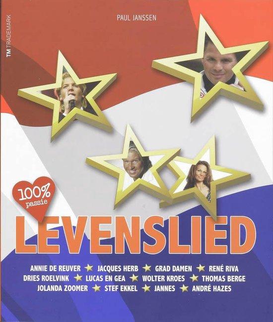 Cover van het boek '100% passie Levenslied' van Pien Janssen