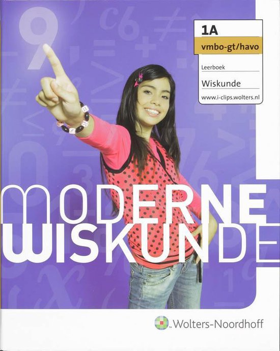 Leerboek 1A Vmbo-gt/havo Moderne Wiskunde Leerboek - I. van Breugel | Fthsonline.com