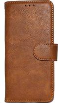 Samsung Galaxy Note 9 Hoesje - Hoge Kwaliteit Portemonnee Book Case - Bruin