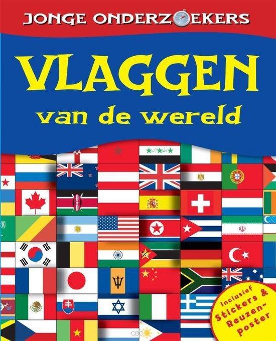 Jonge Onderzoekers - Vlaggen Van De Wereld (Inclusief Poster En Stickers)