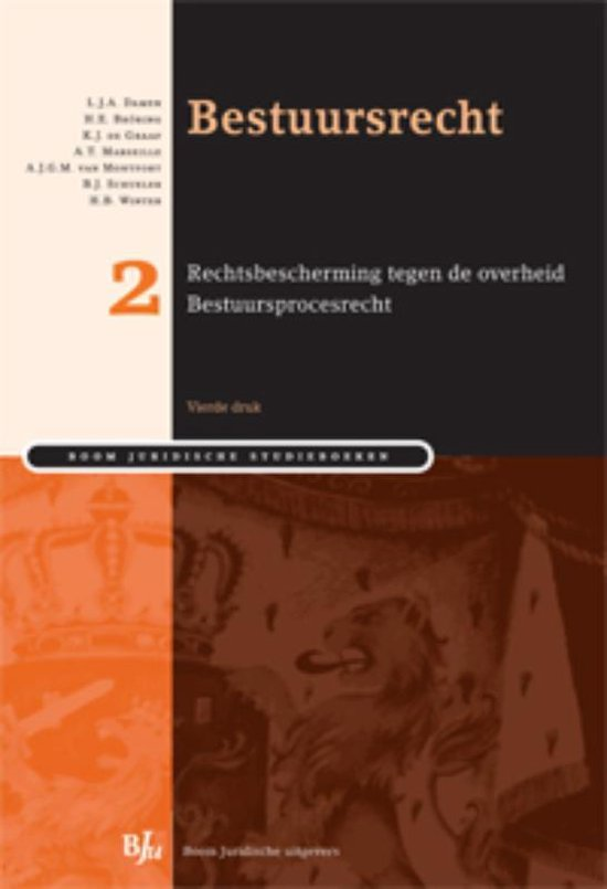 Boek cover Bestuursrecht / deel 2 rechtsbescherming tegen de overheid van L.J.A. Damen (Paperback)