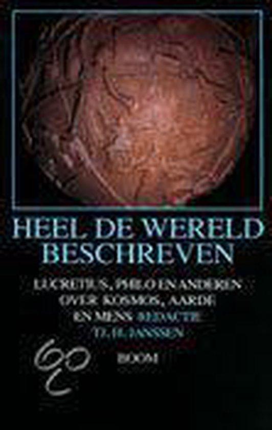 Heel De Wereld Beschreven - Lucretius | Fthsonline.com
