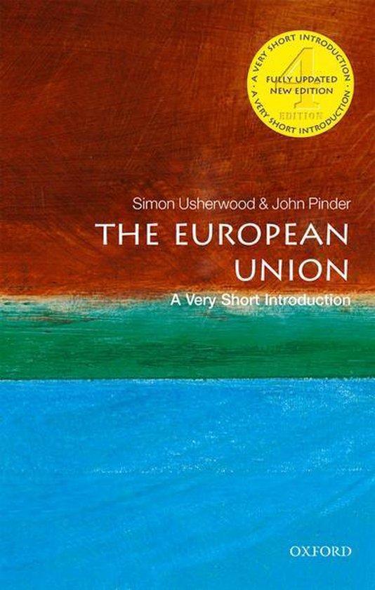 Boek cover The European Union: A Very Short Introduction van Simon Usherwood (Onbekend)