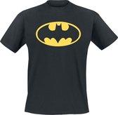 DC Comics Batman Classic logo DC Comics Heren T-shirt Maat L