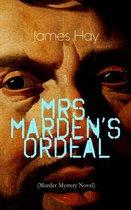 Omslag MRS. MARDEN'S ORDEAL (Murder Mystery Novel)