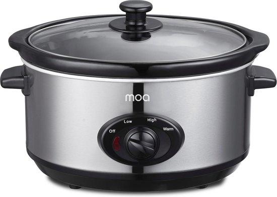 MOA SC65 - Slowcooker - Met Keramische binnenpan - 6,5 liter