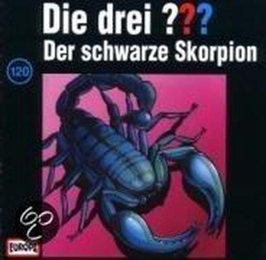 Die Drei ??? 120. Der Schwarze Skorpion (Drei Fragezeichen). Cd