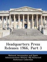 Headquarters Press Releases 1966, Part 3