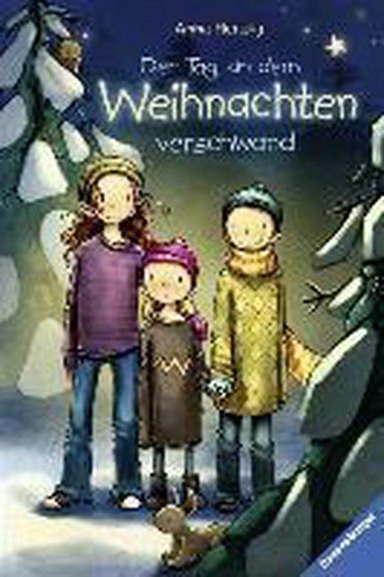 Boek cover Der Tag, an dem Weihnachten verschwand van Anna Herzog (Hardcover)