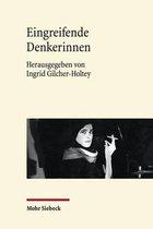 Boek cover Eingreifende Denkerinnen van