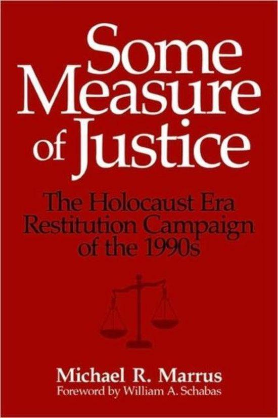 Boek cover Some Measure of Justice van Michael R. Marrus (Paperback)