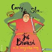Boek cover Juf Braaksel en de magische ring van Carry Slee