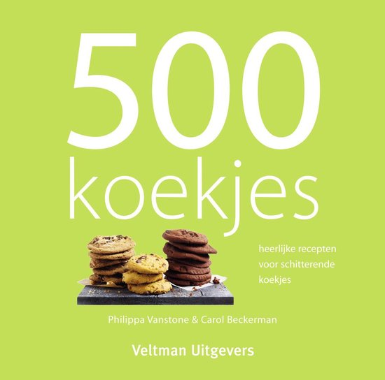 500 koekjes - Philippa Vanstone |