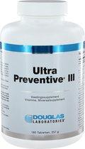 Douglas Laboratories Ultra Preventive III 180 tabletten