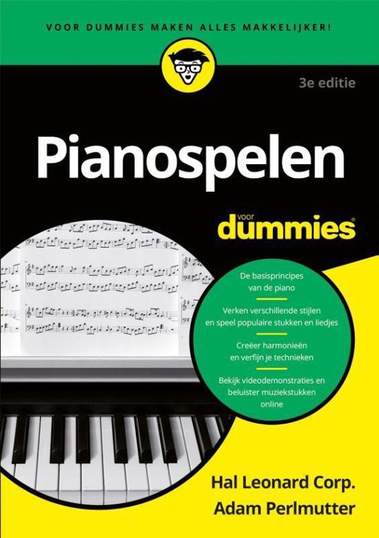 Voor Dummies - Pianospelen voor dummies - Adam Perlmutter | Fthsonline.com