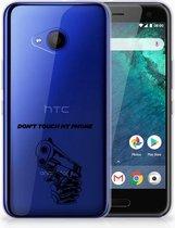 HTC U11 Life TPU-siliconen Hoesje Gun DTMP