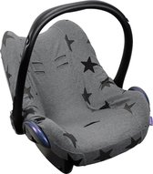 Dooky - Universele baby autostoelhoes voor oa Maxi Cosi - Ster/Grijs