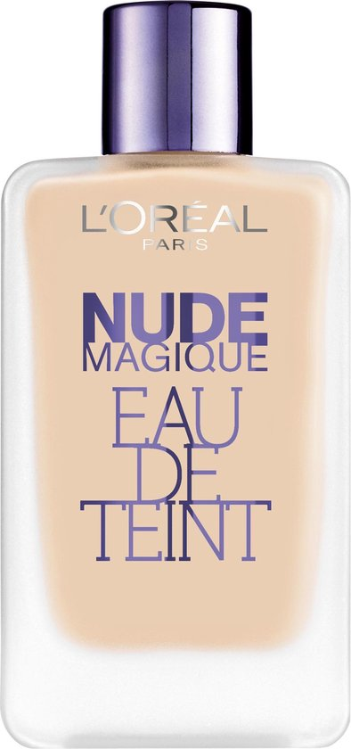 L'Oreal Paris Nude Magique Eau de Teint - 100 Porcelain - Foundation