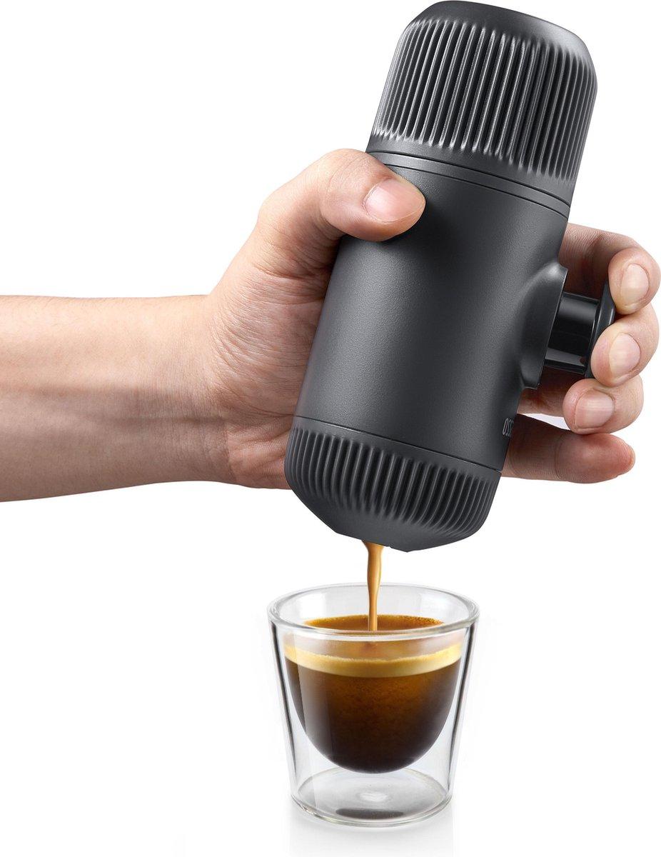 nano espresso apparaat voor onderweg