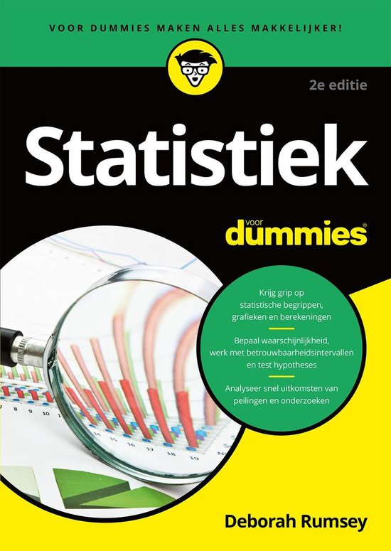 Statistiek voor Dummies - Deborah Rumsey