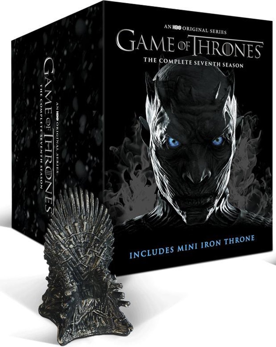Game of Thrones - Seizoen 7 (Blu-ray) (Limited Edition met Throne beeldje) - George R.R. Martin