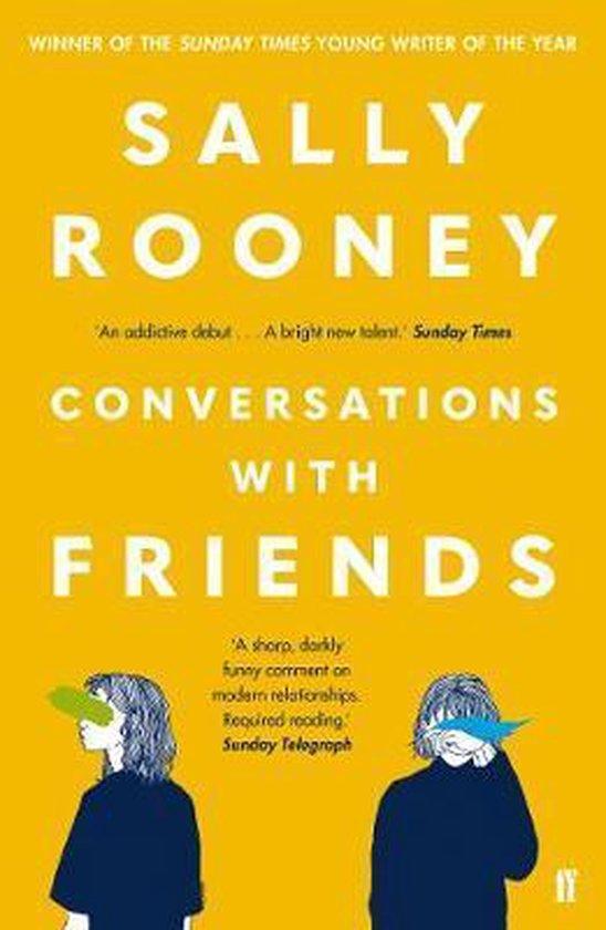 Boek cover Conversations with Friends van Sally Rooney (Paperback)