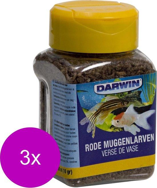 Darwin Rode Muggenlarven - Vissenvoer - 3 x 100 ml